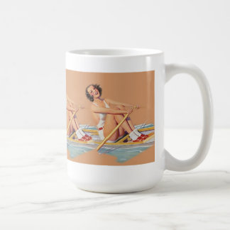 Pinup Women sweep rowing Coffee Mug