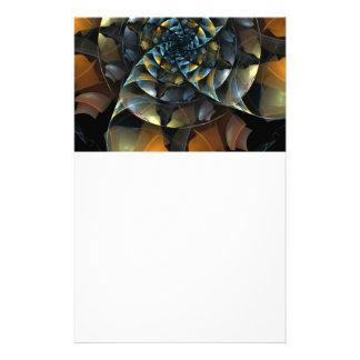 Pinwheel Abstract Art Stationery