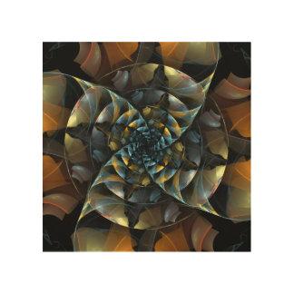 Pinwheel Abstract Art Wood Prints