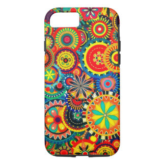 Pinwheel Celebration iPhone 7, Tough Phone Case