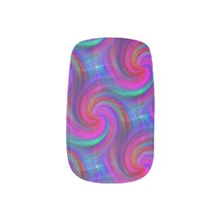 Pinwheel Dream Nail Art