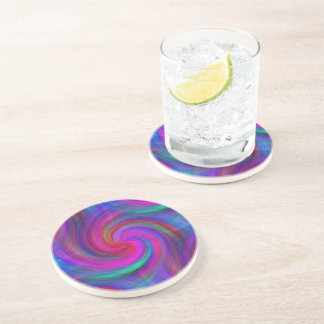 Pinwheel Dream Sandstone Coaster