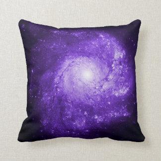 Pinwheel Galaxy Ultraviolet Cushion