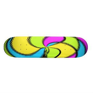 Pinwheel Skateboard Deck