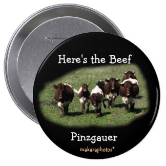 Pinzgauer Beef Pin- customize if you wish