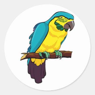 Pio Parrot Sticker