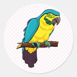 Pio Parrot Stickers