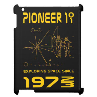 Pioneer 10 & 11 | Space 1972 & 1973 | gold Cover For The iPad 2 3 4