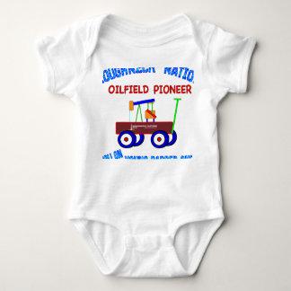 PIONEER-4-WHITE BABY BODYSUIT
