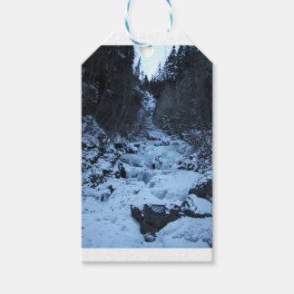 Pioneer Falls Butte Alaska Gift Tags