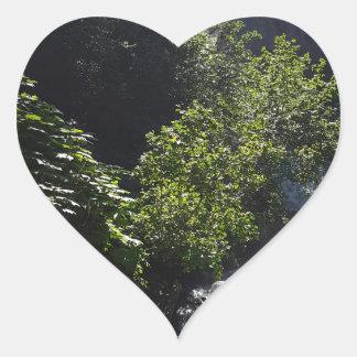 Pioneer Falls Butte Alaska Heart Sticker