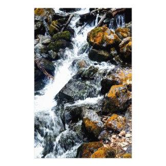 Pioneer Falls Butte Alaska Stationery