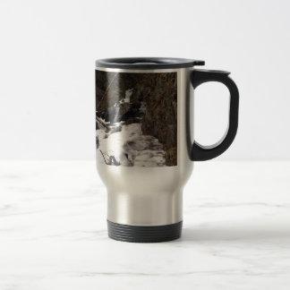 Pioneer Falls Butte Alaska Travel Mug