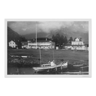 Pioneer House Sitka, Alaska 1912 Poster