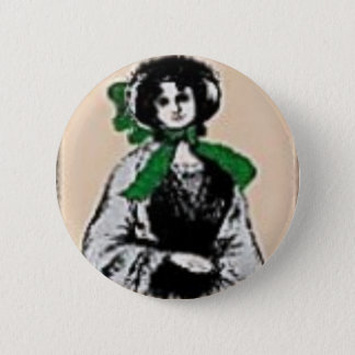 Pioneer Lady 6 Cm Round Badge