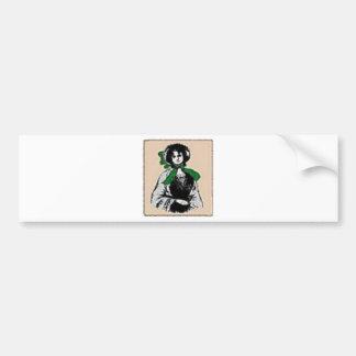 Pioneer Lady Bumper Sticker