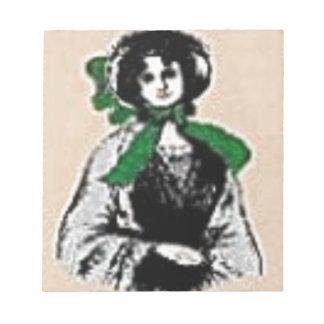 Pioneer Lady Notepad