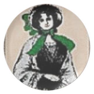 Pioneer Lady Plate