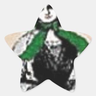 Pioneer Lady Star Sticker