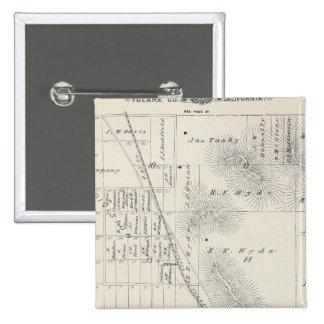 Pioneer Land Co subdivisions 15 Cm Square Badge