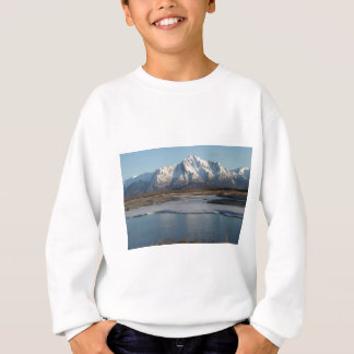 Pioneer Peak Mountain and Matanuska river Sweatshirt