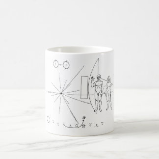 Pioneer Plaque Coffee Mug