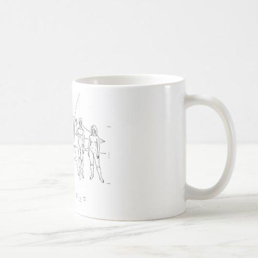 Pioneer Plaque Mugs