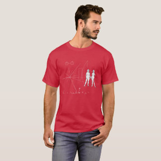 Pioneer plaque Only Women T-Shirt