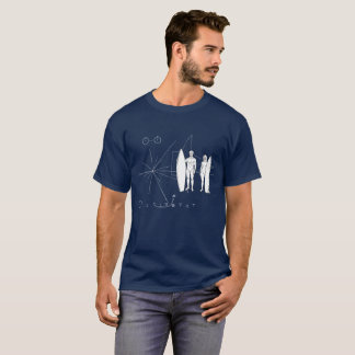 Pioneer plaque Surf T-Shirt