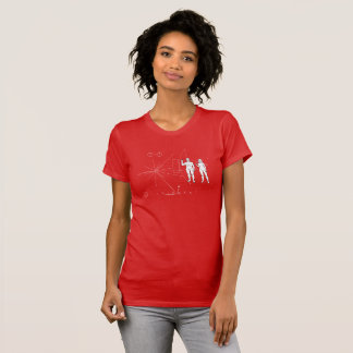"Pioneer plaque ""Too small!"" T-Shirt"