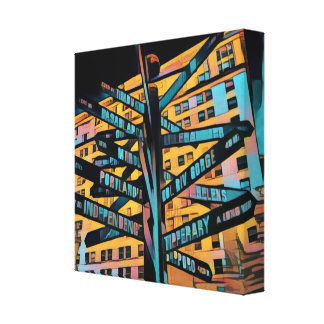 Pioneer Square Canvas Print