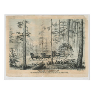 Pioneer Stage Company 0065A Print