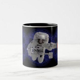 Pioneers by Gregory Gallo Two-Tone Coffee Mug