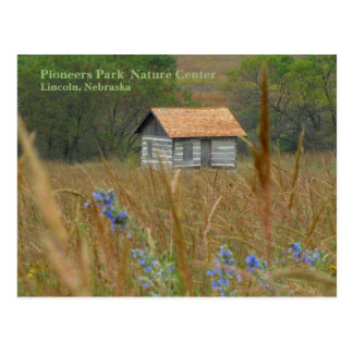 Pioneers Park Nature Centre 8  Lincoln, NE 2010N Postcard
