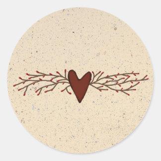 Pip Berry Heart Sticker