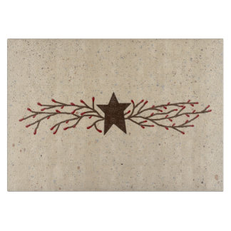 Pip Berry Star Glass Cutting Board