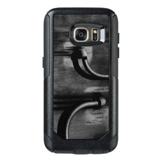 Pipe and Shadow in Black and White OtterBox Samsung Galaxy S7 Case