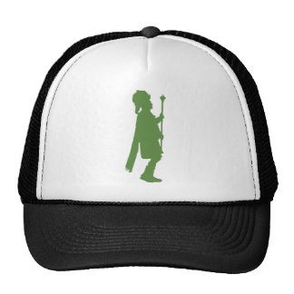 Pipe Band Leader Silhouette Cap