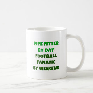 Pipe Fitter by Day Football Fanatic by Weekend Coffee Mug