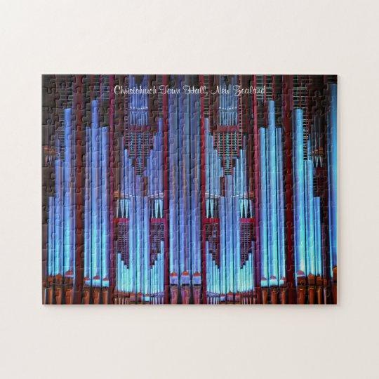 Pipe organ blues puzzle