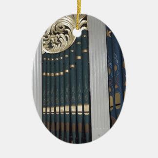 Pipe organ ceramic ornament