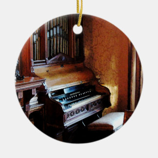 Pipe Organ  in Living Room Ceramic Ornament