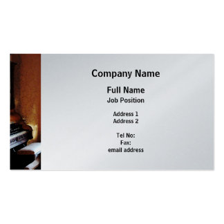 Pipe Organ in Living Room - Platinum Finish Pack Of Standard Business Cards