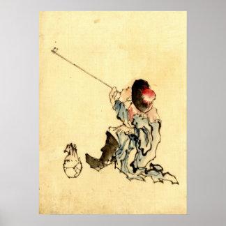 Pipe Smoker 1840 Print