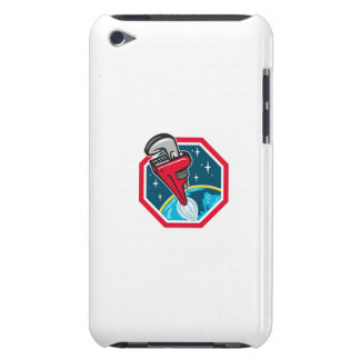 Pipe Wrench Rocket Booster Blasting Space Hexagon Case-Mate iPod Touch Case