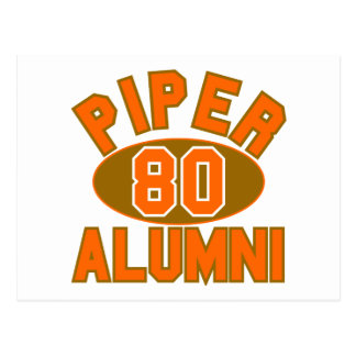 Piper High Class of 1980 Alumni Reunion Post Card