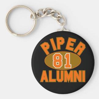 Piper High Class of 1981 Alumni Reunion Keychains