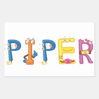 Piper Sticker