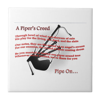 Piper's Creed Tile