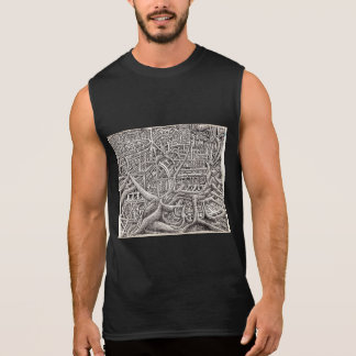 Pipescape, by Brian Benson Sleeveless Shirt